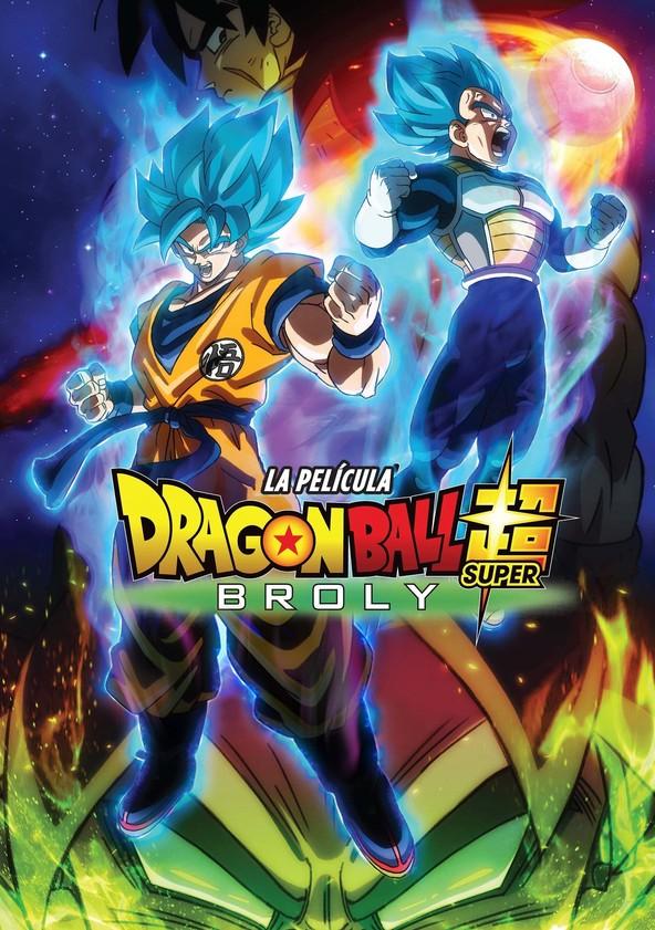 dónde ver película Dragon Ball Super: Broly